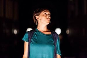 Gli Omini in Ci scusiamo per il disagio - Associazione Teatrale Pistoiese 12 (foto Serena Gallorini)