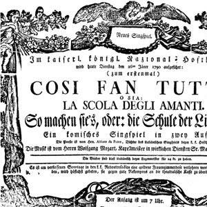 """SELEZIONE DA """"Così fan tutte"""" di Mozart"""