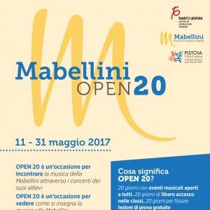 MABELLINI OPEN 20 dall'11 al 31 maggio
