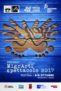 MigrArti 2017 cartolina_6-8-2017 Pistoia fronte
