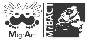 logo MIGRARTI + MIBACT