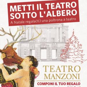 METTI IL TEATRO SOTTO L'ALBERO! a Natale regalaTI una poltrona a teatro