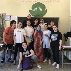 18.5 LA GRAMMATICA DELL'INCONTRO Liceo Mantellate #scuolainscena