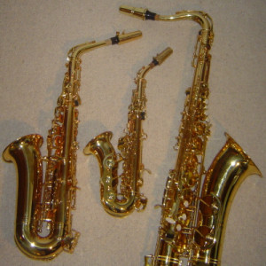 Esercitazione della classe di saxofono