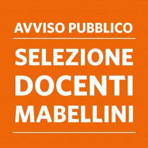 AVVISO PUBBLICO CONFERIMENTO INCARICHI INSEGNAMENTO SCUOLA MABELLINI