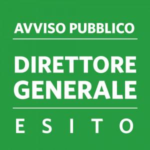 ESITO – AVVISO PUBBLICO DIRETTORE GENERALE