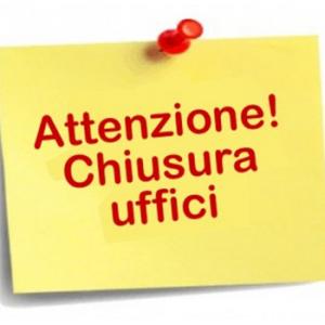 AVVISO | CHIUSURA UFFICI ATP FINO AL 3 APRILE