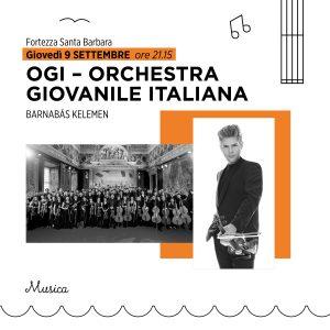 OGI-ORCHESTRA GIOVANILE ITALIANA | BARNABÁS KELEMEN | 9 SETTEMBRE